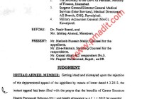 GRANT OF HEALTH ALLOWANCE TO HEALTH PERSONNEL (DEFENCE PAID EMPLOYEES) IN FEDERAL GOVT